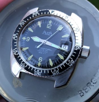 Alsta Superautomatic diver from 1970's