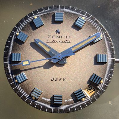 Vintage Zenith Defy Automatic A3642 from 1960's