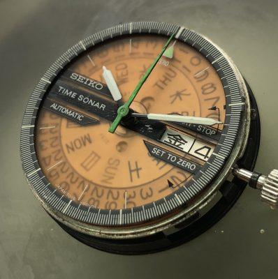 Seiko Time Sonar