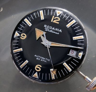 Vintage Rodania Waterman Super Compressor from 1961