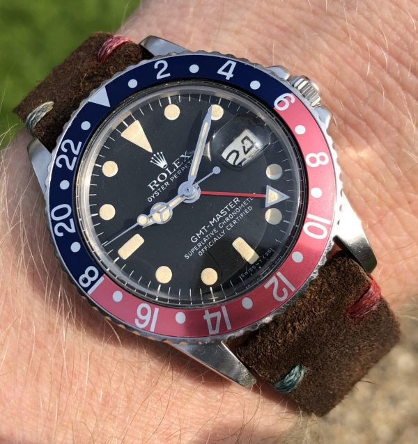 Rolex 1675 GMT Master from 1970's