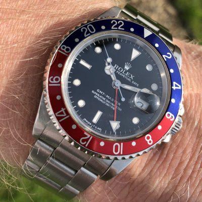 Rolex 16750 GMT Master